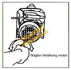 cara memasukkan air pancingan pompa air