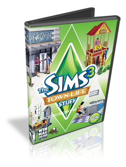 Download The Sims 3 Town Life Stuff PC Gamer 2011