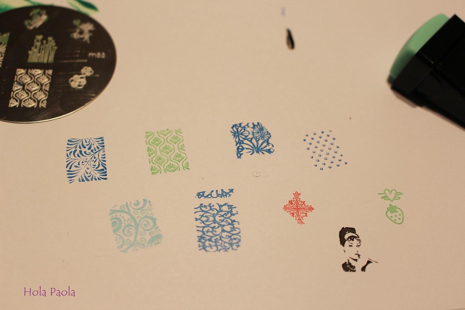 Stemple Stemplowanie płytki lakiery gumki nie działa co zrobić stamping nails paznokcie zdobienie wzory not work what to do