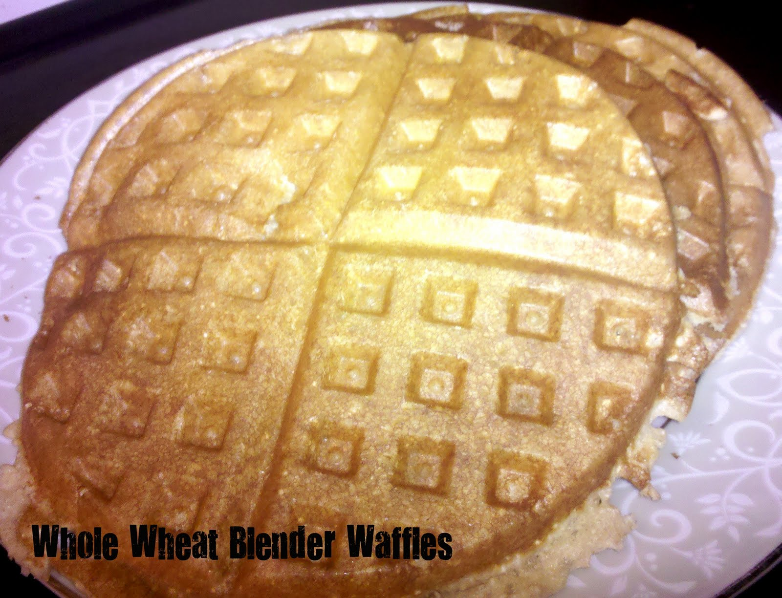 Heathly Meals Monday: Soft Whole Wheat Blender Waffles / Six Sisters ...