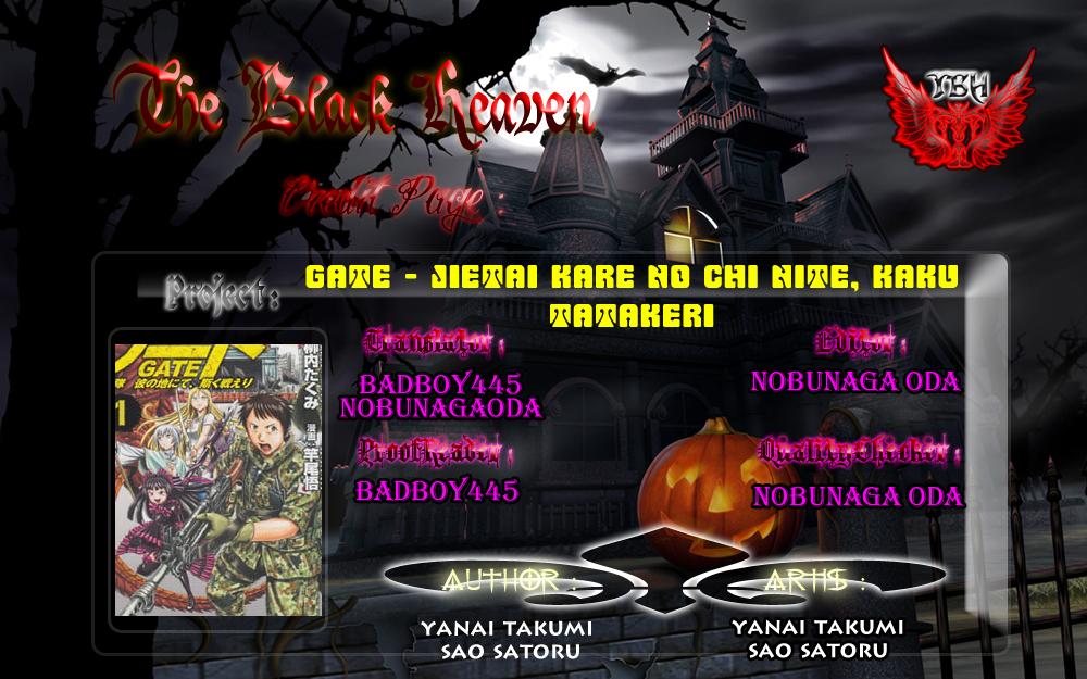 Gate – Jietai Kare no Chi nite, Kaku Tatakeri chap 7 Trang 25 - Mangak.info