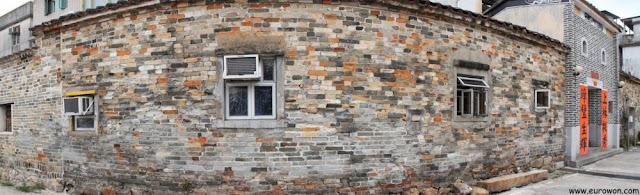Muro que rodea este barrio antiguo