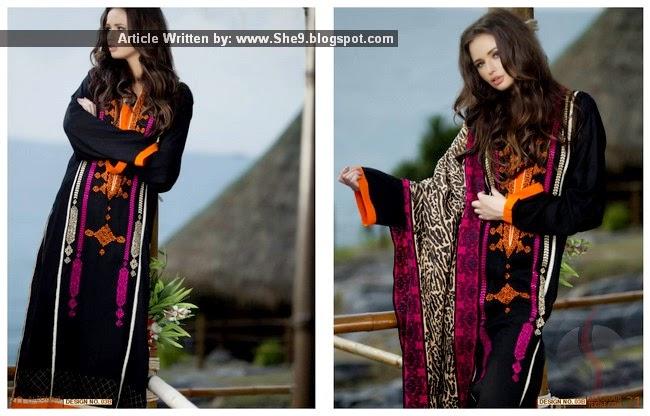 Mahiymaan Royal Shawl Dress Collection