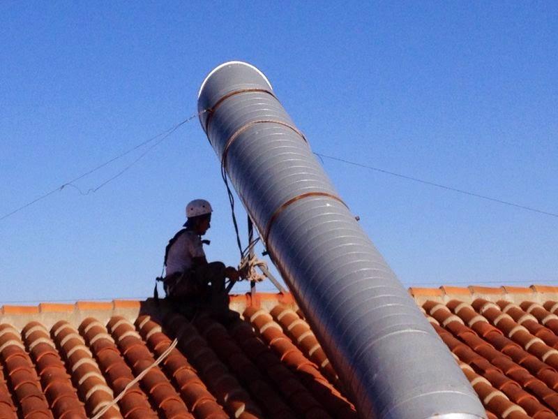 Tubos de chimeneas de acero inoxidable para comunidades en - Tubos de acero inoxidable para chimeneas ...