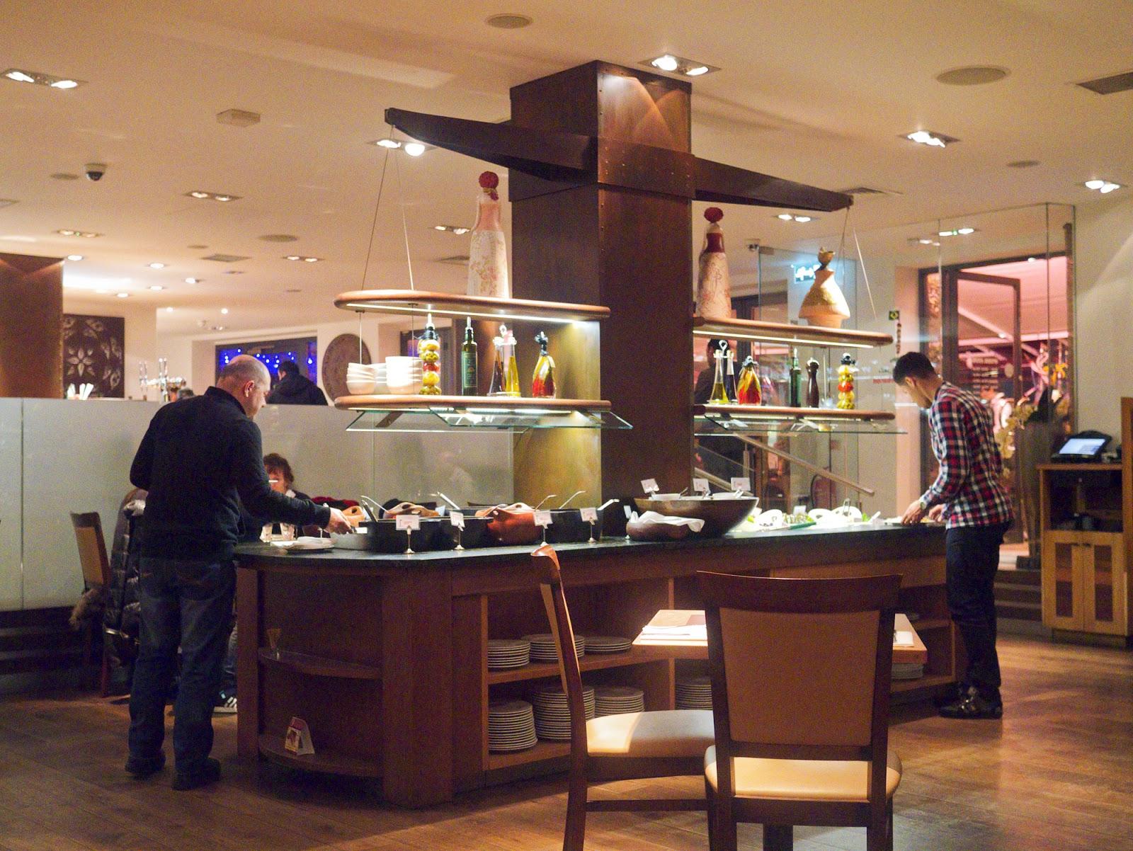 Rodizio Lebanon restaurant Fulham starter bar
