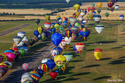 Line up Mondial Air Ballons 2015
