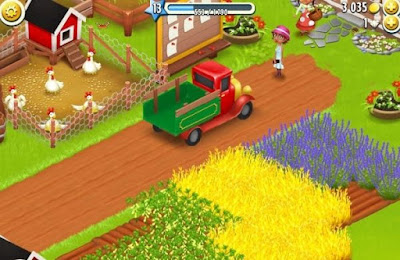 gameplay saat bermain hay day