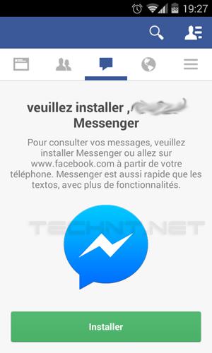 فيس بوك يجبر المستخدمين باستخدام تطبيق Facebook Messanger للرسائل الفورية - التقنية نت - technt.net