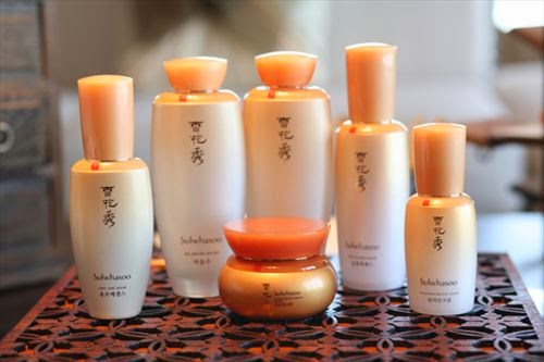 Sulwhasoo Spa product line