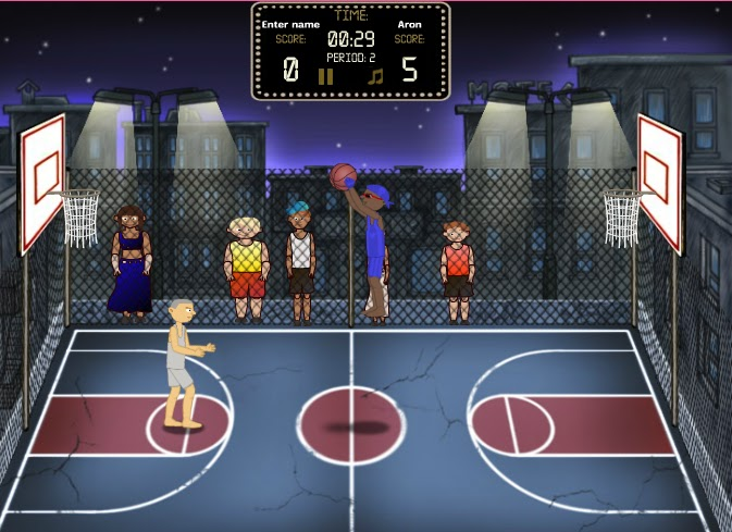 online basketball games