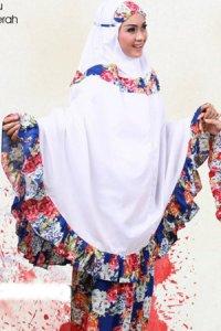 Mukena Dewasa Tatuis Tiara 062 - Biru (Toko Jilbab dan Busana Muslimah Terbaru)