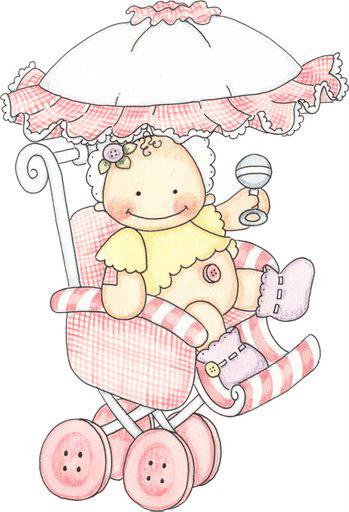 Dibujos de bebe para baby shower