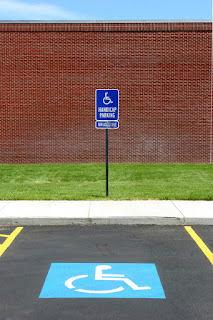 Handicapped Parking, muscular dystrophy, handicap parking
