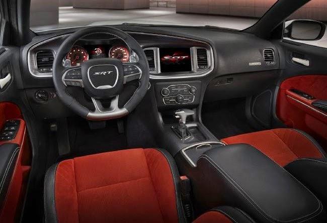 2016 Challenger SRT8 Hellcat Interior