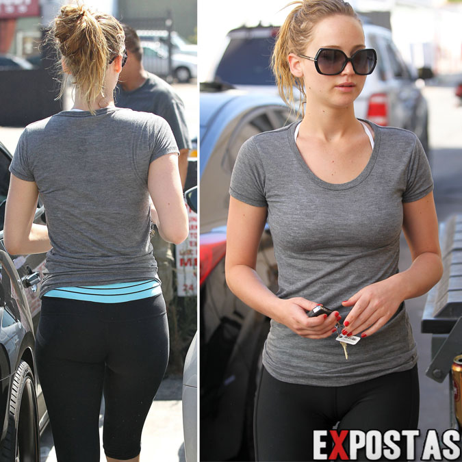Jennifer Lawrence Camel Toe