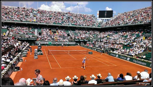 Roland Garros 2013 Court Philippe-Chartrier demi-Finales Femmes Maria Sharapova