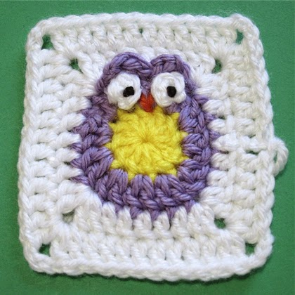 Owl Granny Square Tutorial
