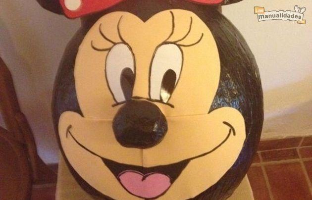 Un Manitas en casa: Piñata de Minnie Mouse