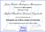 Embajador de la Rima Jotabé