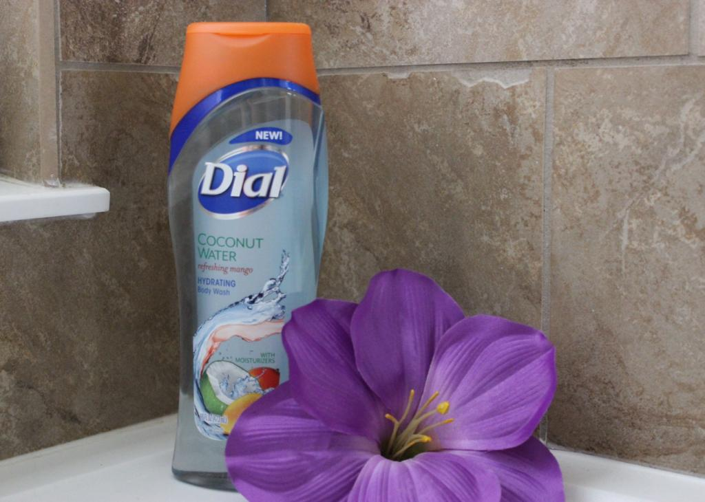 NEW Dial Coconut Water Refreshing Mango Body Wash & Giveaway