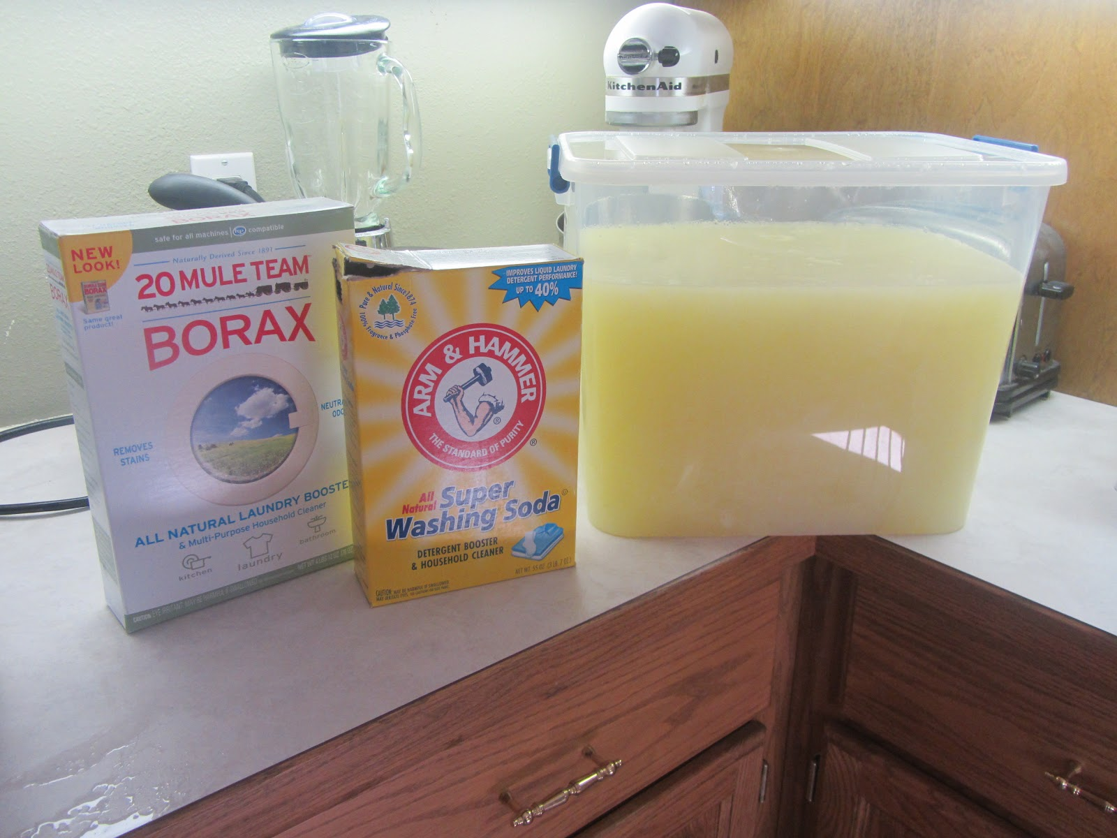 Gabrielle Meyer Homemade Liquid Laundry Detergent 01 A
