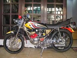 foto modifikasi motor yamaha rx king terbaru
