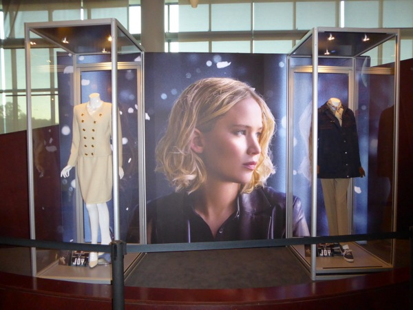 Joy film costume display