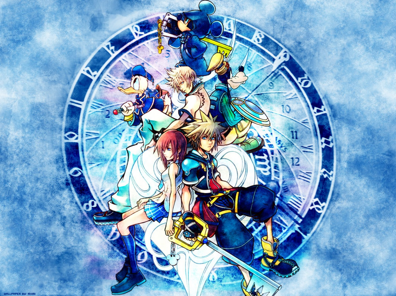 kingdom hearts background - photo #28