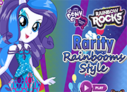Rarity Rainbooms Style