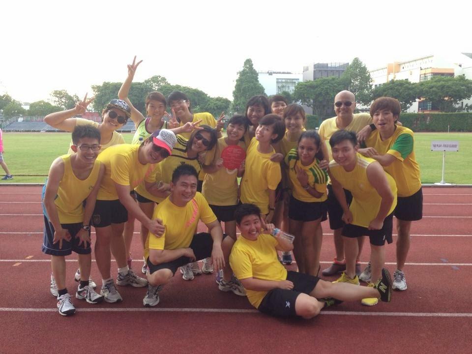 Redwoods Advance Singapore's Sports Day at Bishan Stadium