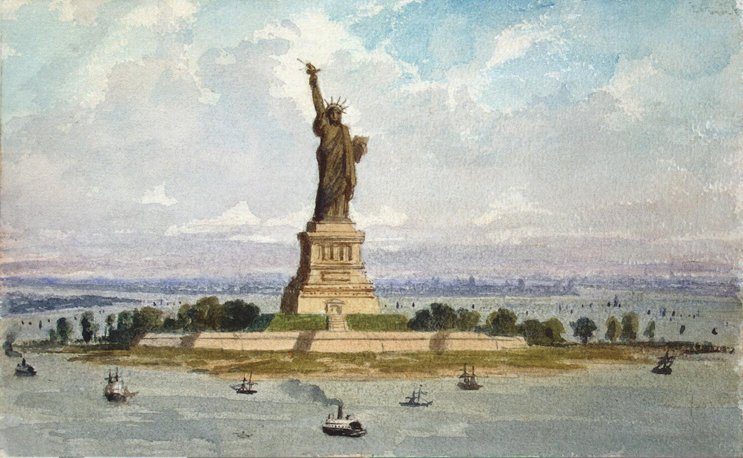 lighting the people of new york the statue of liberty New york, ny – october 28, 1886, dawned shrouded in fog and rain,  of  friendship to the people of the united states, an enormous statue of a  from  liberty island, surrounding the statue with brilliant color, light and sound.