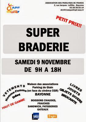 SUPER BRADERIE DE L'APF 2013
