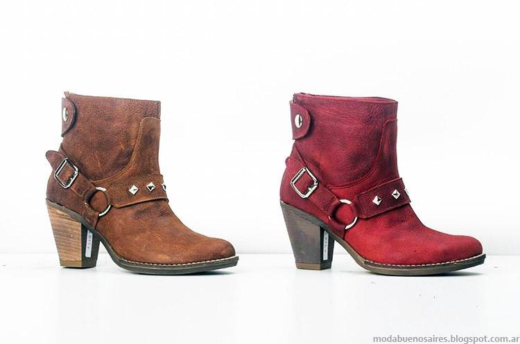 Botas otoño invierno 2015 Micheluzzi. Moda calzado femenino invierno 2015.