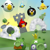 Angry Bird iPad and iPad 2 wallpapers