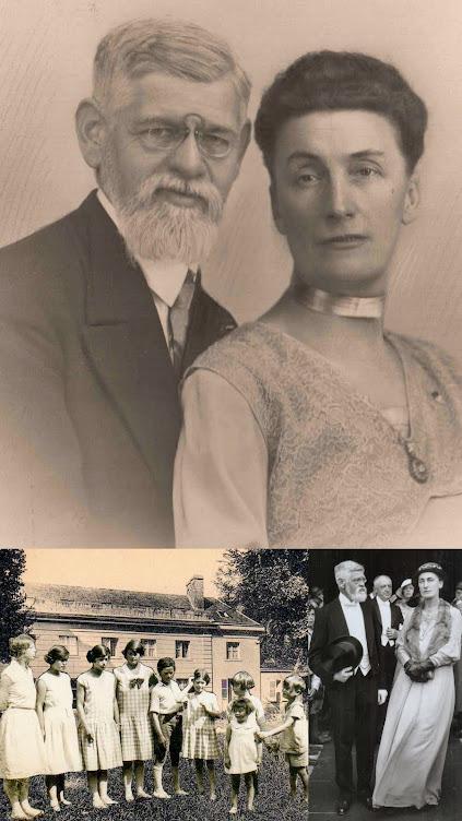 André LESORT et Elisabeth LESORT née MADELIN vers 1930