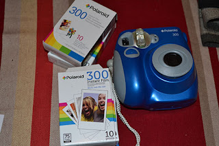 polaroid camera and film
