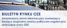 Najnowsze informacje i analizy- BIULETYN RYNKU OZE