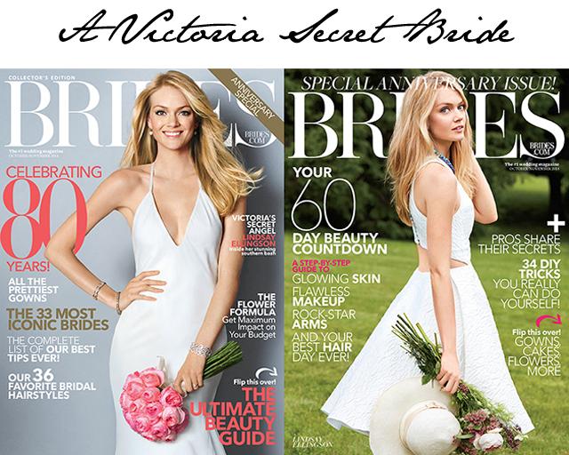 Brides Victoria's Secret model Lindsay Ellingson