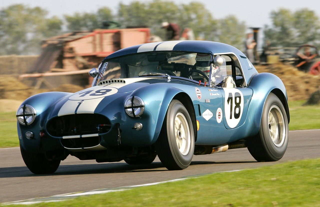 2012 Goodwood Revival to celebrate the Cobras golden anniversary with a