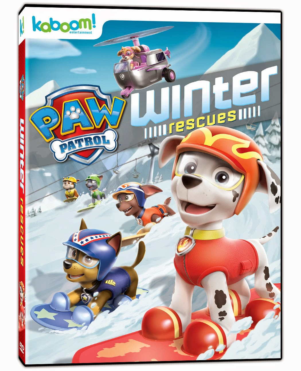 yyz bambina paw patrol winter rescues now on dvd review giveaway