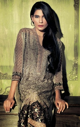 Ethnic by Outfitters Winter Party Wear-14/15
