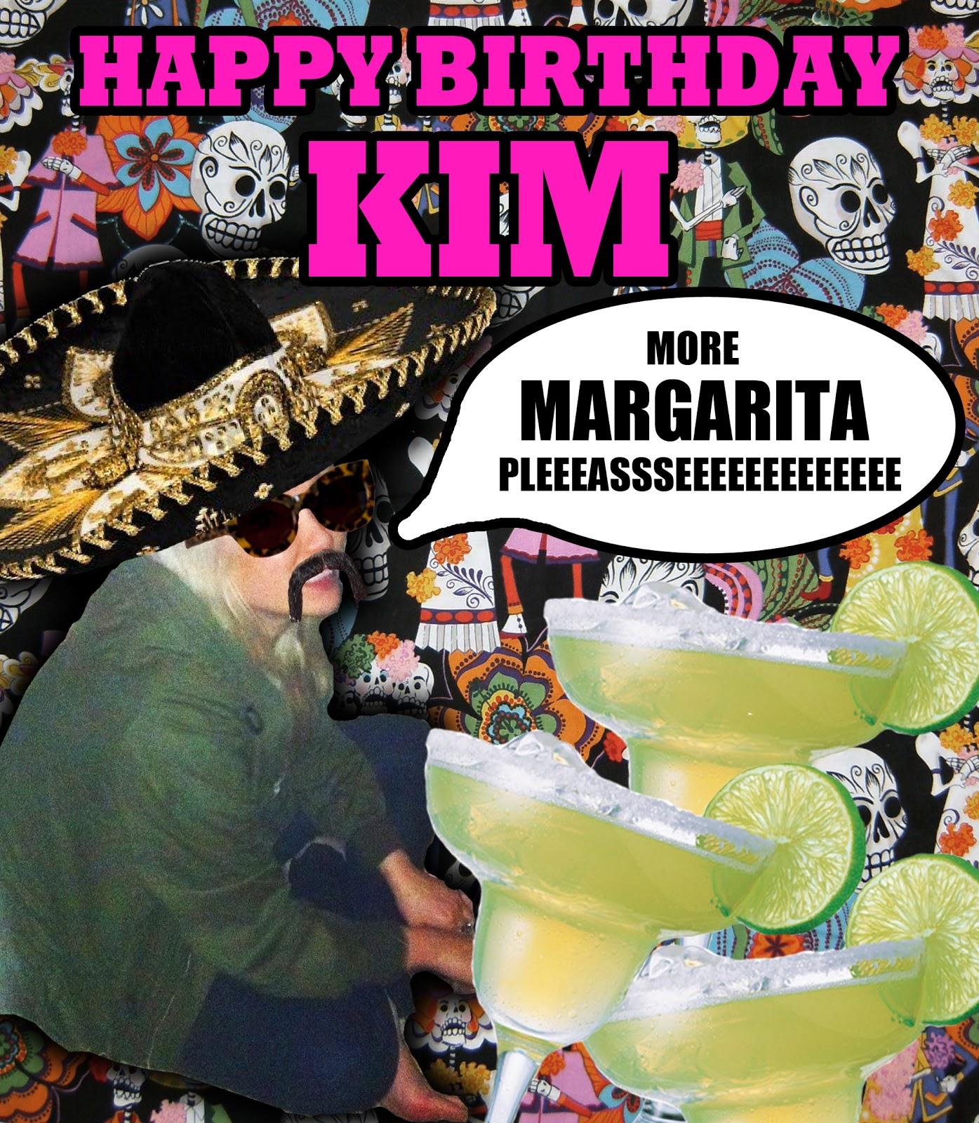 VIOLENT GREEN HAPPY BIRTHDAY KIM
