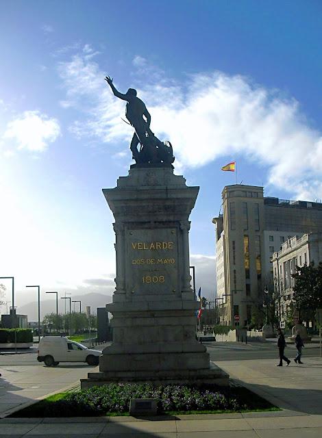 Monumento a Pedro Velarde en Santander