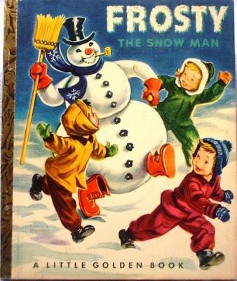 Frosty the Snowman Little Golden Book