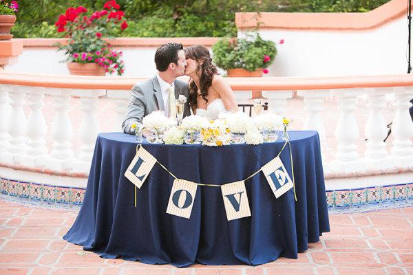 decoracao de casamento azul marinho amarelo e branco:Ficando noiva: Decoração: Azul e Amarelo