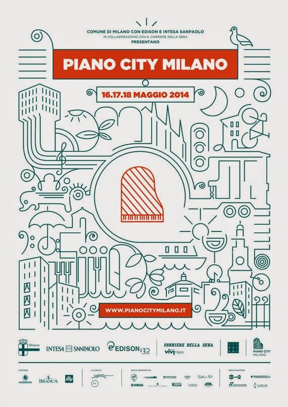 da venerdì 16 a domenica 18 maggio: eventi gratuiti con Piano City Milano