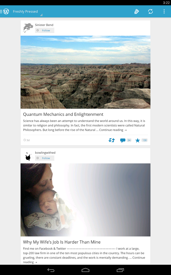 wordpress-android-uygulaması