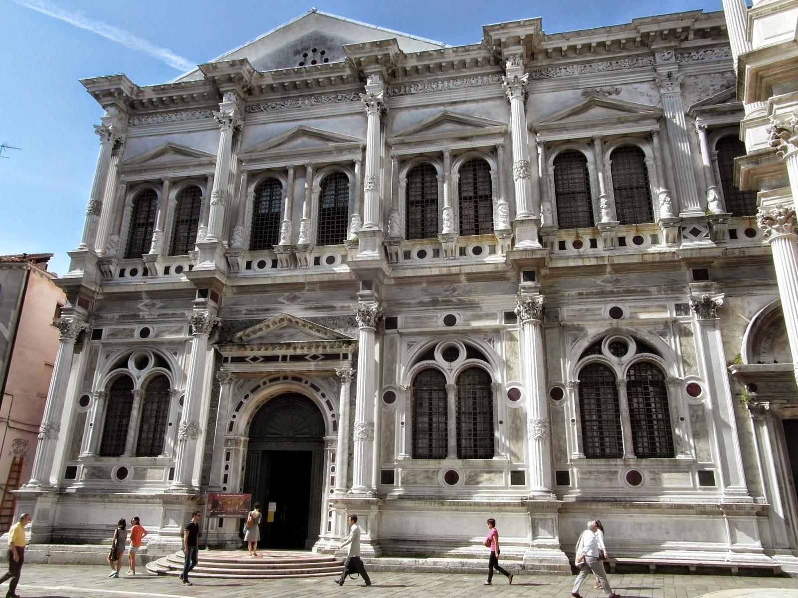 The Scuola Grande di San Rocco in Venice.