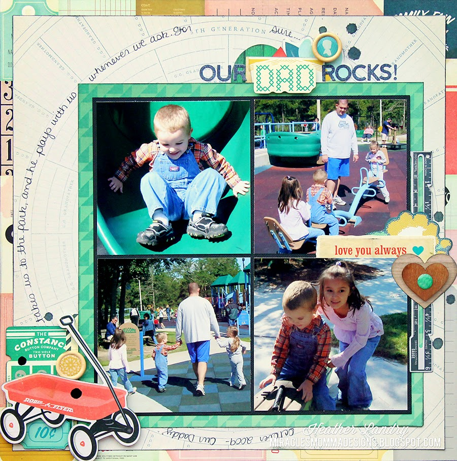 Park_Playtime_Scrapbook Page_Kids