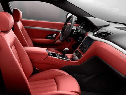 Fast cars maserati granturismo top class model car for Maserati granturismo s interieur